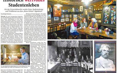 Die Universität Heidelberg digitalisiert die historischen Belege des Roten Ochsen