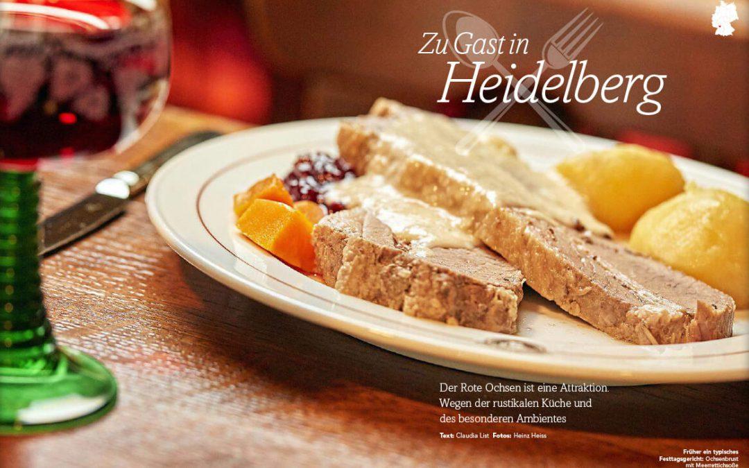 """Artikel """"Zu Gast in Heidelberg"""" im Magazin """"daheim"""""""