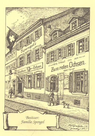 """180 Jahre """"Zum Roten Ochsen"""""""